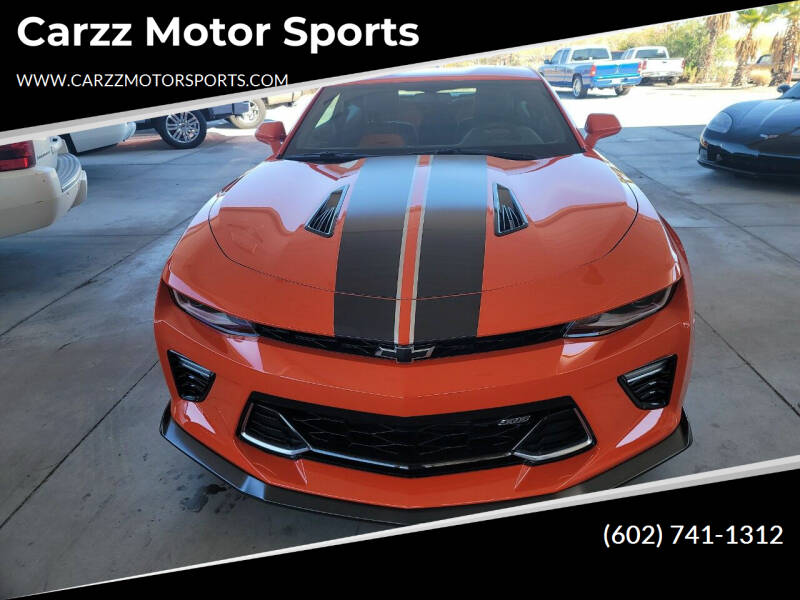 2018 Chevrolet Camaro for sale at Carzz Motor Sports in Fountain Hills AZ