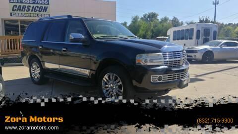 2008 Lincoln Navigator for sale at Zora Motors in Houston TX