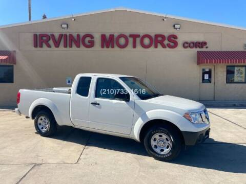2018 Nissan Frontier for sale at Irving Motors Corp in San Antonio TX