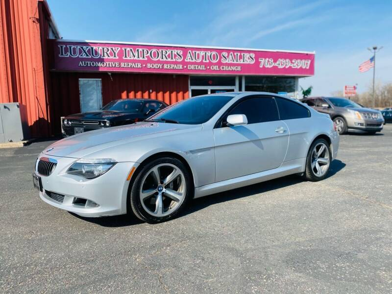 2008 BMW 6 Series for sale at LUXURY IMPORTS AUTO SALES INC in North Branch MN