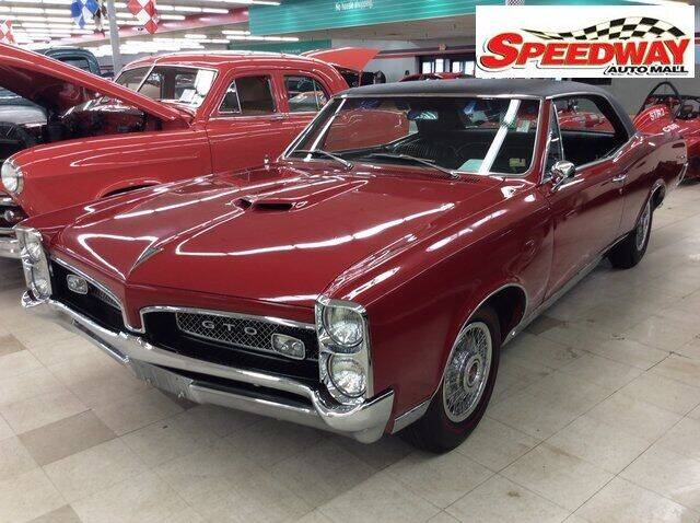 1967 Pontiac GTO for sale at SPEEDWAY AUTO MALL INC in Machesney Park IL