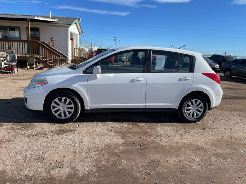 2007 Nissan Versa for sale at PYRAMID MOTORS - Fountain Lot in Fountain CO