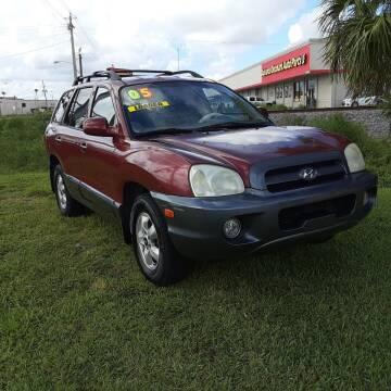 2005 Hyundai Santa Fe for sale at Easy Credit Auto Sales in Cocoa FL