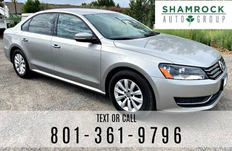 2013 Volkswagen Passat for sale at Shamrock Group LLC #1 in Pleasant Grove UT