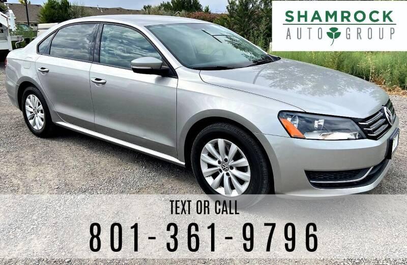 2013 Volkswagen Passat for sale at Shamrock Group LLC #1 in Pleasant Grove UT