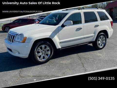 2010 Jeep Cherokee for sale at University Auto Sales of Little Rock in Little Rock AR