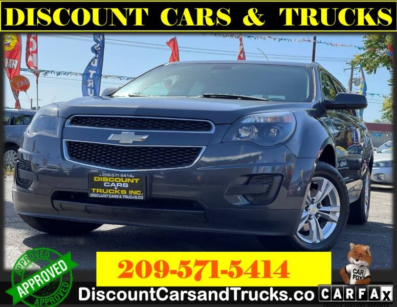 2011 Chevrolet Equinox for sale at Discount Cars & Trucks in Modesto CA