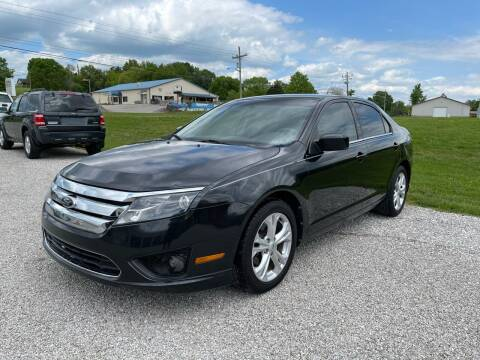 2012 Ford Fusion for sale at 64 Auto Sales in Georgetown IN