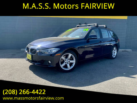 2014 BMW 3 Series for sale at M.A.S.S. Motors - Fairview in Boise ID