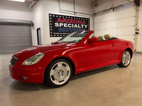 2004 Lexus SC 430 for sale at Arizona Specialty Motors in Tempe AZ