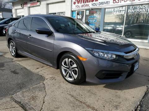 2017 Honda Civic for sale at Sunrise Auto Outlet in Amityville NY