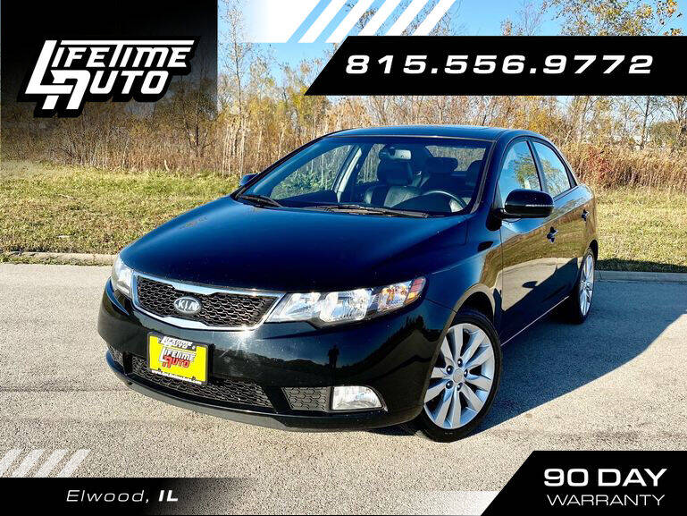 2012 Kia Forte for sale at Lifetime Auto in Elwood IL