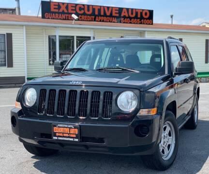 2008 Jeep Patriot for sale at Executive Auto in Winchester VA
