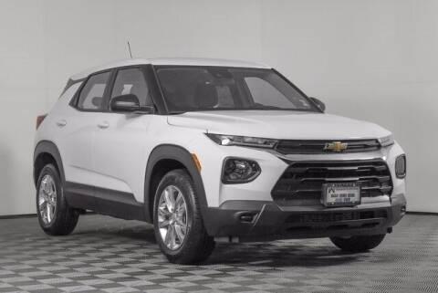 2021 Chevrolet TrailBlazer for sale at Washington Auto Credit in Puyallup WA