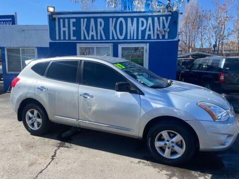 2013 Nissan Rogue for sale at The Kar Kompany Inc. in Denver CO