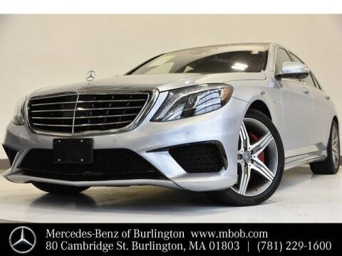 2014 Mercedes-Benz S-Class for sale at Mercedes Benz of Burlington in Burlington MA