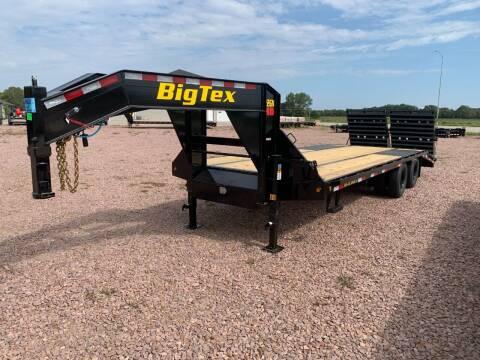 2022 Big Tex 22GN 20+5 Mega Ramp #8628