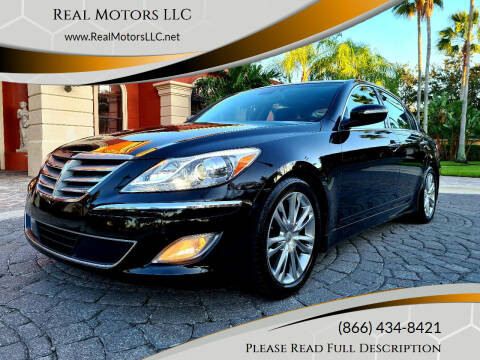 2013 Hyundai Genesis for sale at Real Motors LLC in Clearwater FL