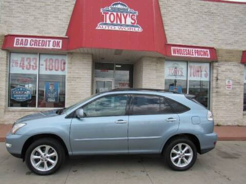 2009 Lexus RX 350 for sale at Tony's Auto World in Cleveland OH