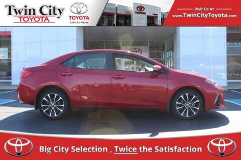 2017 Toyota Corolla for sale at Twin City Toyota in Herculaneum MO