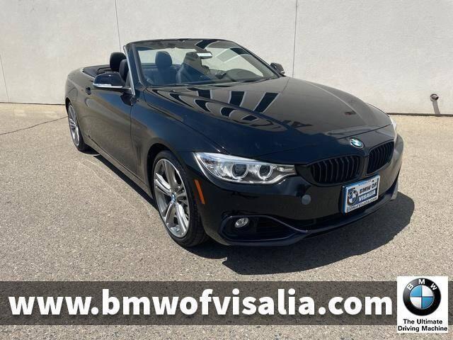 2016 BMW 4 Series for sale at BMW OF VISALIA in Visalia CA