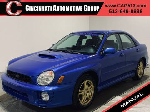 2002 Subaru Impreza for sale at Cincinnati Automotive Group in Lebanon OH