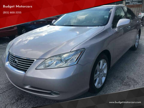 2007 Lexus ES 350 for sale at Budget Motorcars in Tampa FL