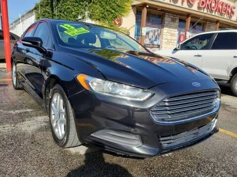 2013 Ford Fusion for sale at USA Auto Brokers in Houston TX