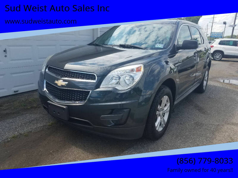 2014 Chevrolet Equinox for sale at Sud Weist Auto Sales Inc in Maple Shade NJ