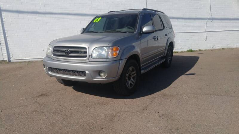 2003 Toyota Sequoia for sale at Advantage Auto Motorsports in Phoenix AZ