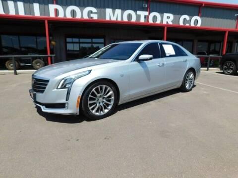 2018 Cadillac CT6 for sale at Bulldog Motor Company in Borger TX