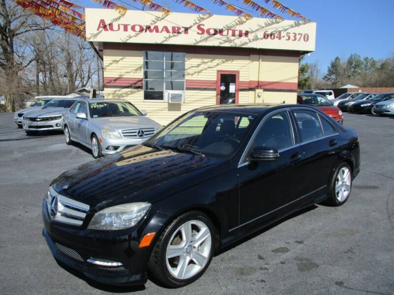 2011 Mercedes-Benz C-Class for sale at Automart South in Alabaster AL