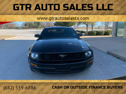 2007 Ford Mustang for sale at GTR Auto Sales LLC in Haltom City TX