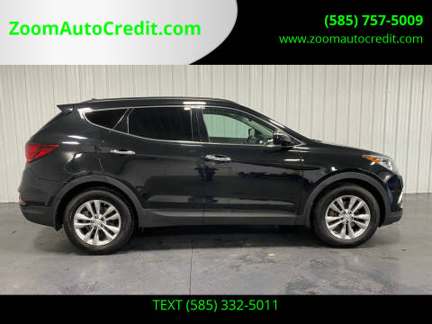 2017 Hyundai Santa Fe Sport for sale at ZoomAutoCredit.com in Elba NY