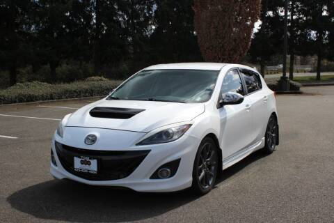 2012 Mazda MAZDASPEED3 for sale at Top Gear Motors in Lynnwood WA