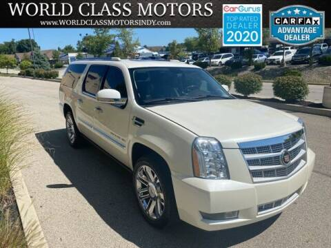 2010 Cadillac Escalade ESV for sale at World Class Motors LLC in Noblesville IN