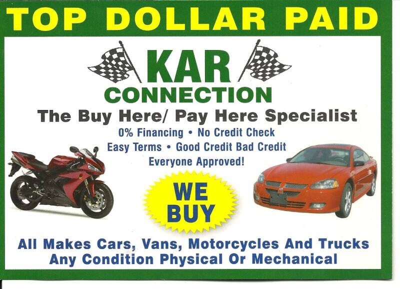 2015 Jeep Cherokee for sale at Kar Connection in Little Ferry NJ
