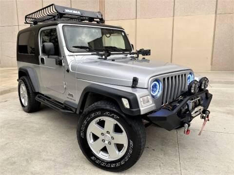 2004 Jeep Wrangler for sale at Car Match in Temple Hills MD