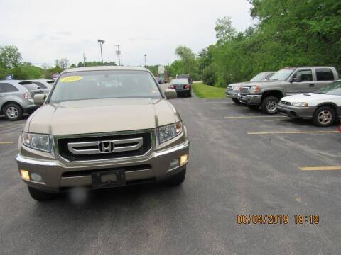 2010 Honda Ridgeline for sale at Heritage Truck and Auto Inc. in Londonderry NH