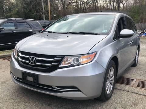 2016 Honda Odyssey for sale at AMA Auto Sales LLC in Ringwood NJ