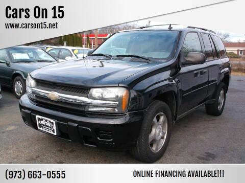 2007 Chevrolet TrailBlazer for sale at Cars On 15 in Lake Hopatcong NJ