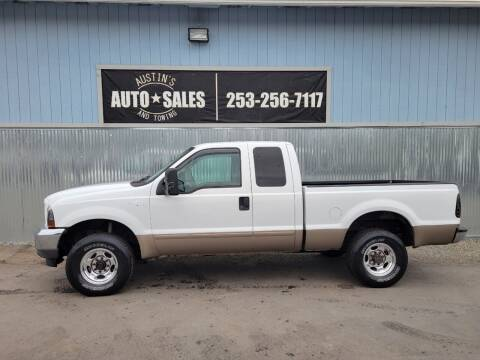 2003 Ford F-250 Super Duty for sale at Austin's Auto Sales in Edgewood WA