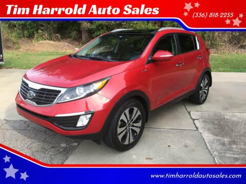2011 Kia Sportage for sale at Tim Harrold Auto Sales in Wilkesboro NC