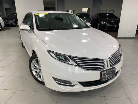 2014 Lincoln MKZ Hybrid for sale at Auto Mall of Springfield in Springfield IL