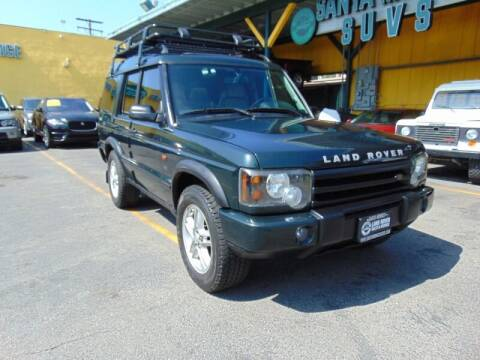 2003 Land Rover Discovery for sale at Santa Monica Suvs in Santa Monica CA