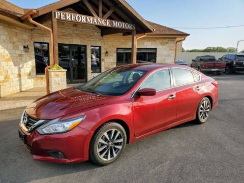 2017 Nissan Altima for sale at Performance Motors Killeen Second Chance in Killeen TX