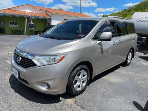 2013 Nissan Quest for sale at PIONEER USED AUTOS & RV SALES in Lavalette WV
