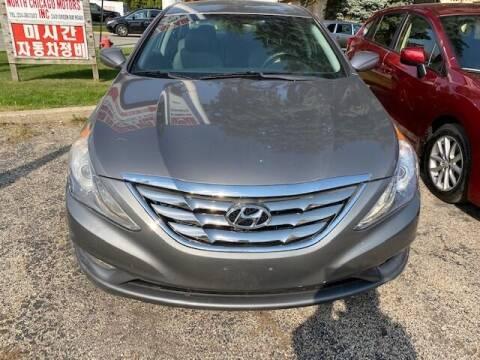 2013 Hyundai Sonata for sale at NORTH CHICAGO MOTORS INC in North Chicago IL