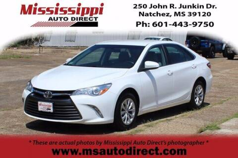 2017 Toyota Camry for sale at Auto Group South - Mississippi Auto Direct in Natchez MS