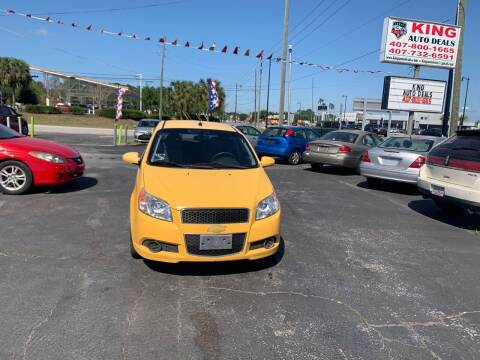 2009 Chevrolet Aveo for sale at King Auto Deals in Longwood FL